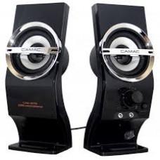 CAMAC CMK-878 USB Power Portable Music Speaker for PC / Laptop - Black