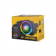 RF-200 Pro RGB 5 IN 1 Case Cooling Fan with Remote Controller