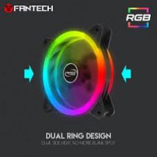 FANTECH TURBINE FC-124 Anti-Vibration Auto RGB Modes Fan Dual Side Illuminated