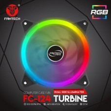 FANTECH FC124 TURBINE RGB COMPUTER CASING FAN