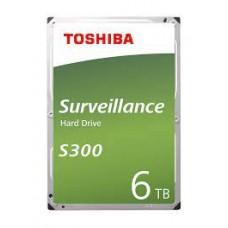 """TOSHIBA 6TB SURVEILLANCE HARD DRIVE 3.5"""" SATA"""