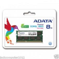 Adata 8GB DDR3L 1600 Bus Laptop Ram