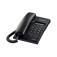 Panasonic KX-TSC60SX Corded Phone with Caller ID Black/White